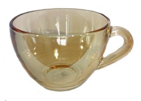 """Набор 6 чашек для чая цвет """"Янтарь"""" С-1416"""