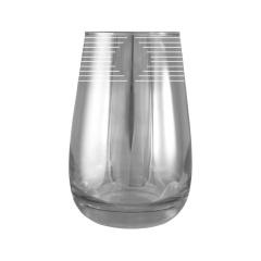 """Набор-стаканы для коктейля 6 шт с узором """"Ромб"""" цвет """"Кварц"""" EQ233-2069"""