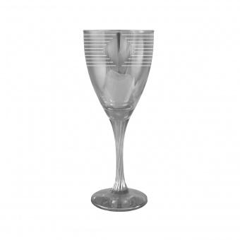 """Набор - бокалы для вина 6 шт с узором """"Ромб"""" цвет """"Кварц"""" EQ233-372"""