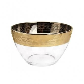 """Салатник с рисунком """"Версаче"""" (диаметр 19 см) EAV08-1326"""