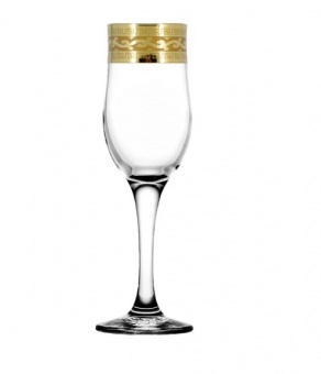 """Набор 6 бокалов для шампанского с рисунком """"Версаче"""" EAV08-160"""