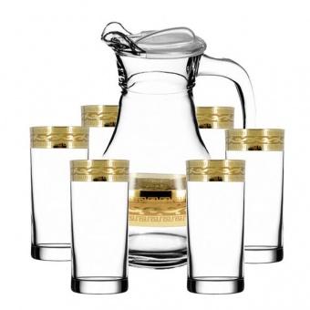 """Набор для воды 7 предметов с рисунком """" Версаче """" EAV08-3944/402"""