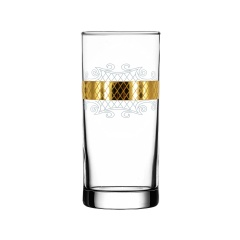 """Набор 6 стаканов для сока с рисунком """"Винтаж"""" EAV25-402"""