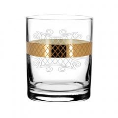 """Набор 6 стаканов для виски с рисунком """"Винтаж"""" EAV25-405"""