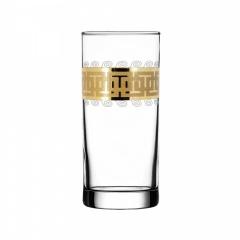 """Набор 6 стаканов для сока с рисунком """"Меандр"""" EAV26-402"""