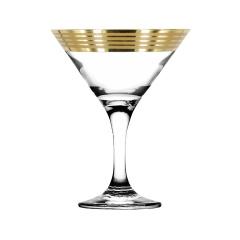 """Набор 6 бокалов для мартини с рисунком """"Иллюзия"""" EAV65-410"""