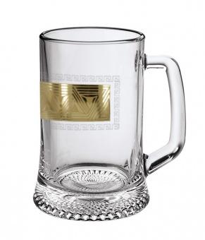 "Кружка для пива 0,5 с рисунком ""Пирамида"" EAV92-1008"