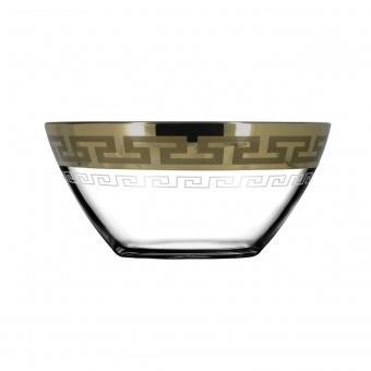 """Набор: салатников 2 шт с рисунком """"Греческий узор"""" (диаметр 13 см) GE03-1542"""
