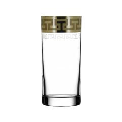 """Набор 6 стаканов для сока с рисунком """"Греческий узор"""" GE03-402"""