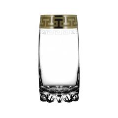 """Набор 6 стаканов для сока с рисунком """"Греческий узор"""" GE03-812"""