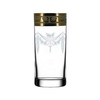 """Набор 6 стаканов для сока с рисунком """"Русский узор"""" GE09-402"""