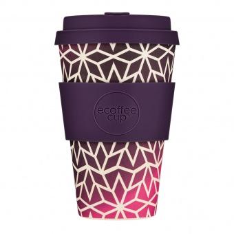 Ecoffee Cup Звездный виноград 400мл (14oz) / КОД 131