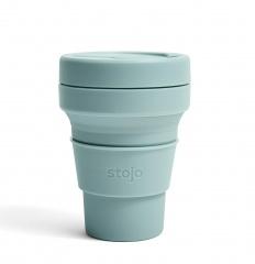 STOJO стакан Аквамарин 355мл (12oz) / S1-AQU