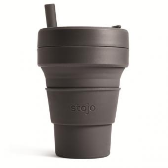 STOJO стакан Уголь 470мл (16oz) / S2-CBN