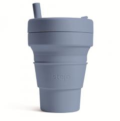 STOJO стакан Сталь 470мл (16oz) / S2-STE