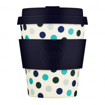 Ecoffee Cup Синий горох 250мл (8oz) / КОД 314