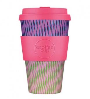 Ecoffee Cup Цветок  400мл (14oz) / КОД 166