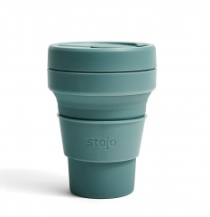 STOJO стакан Эвкалипт 355ml (12oz) / S1-EUC
