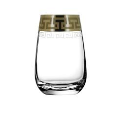 """Набор стаканов для коктейля 6 шт с узором """"Греческий узор"""" GE03-2069"""