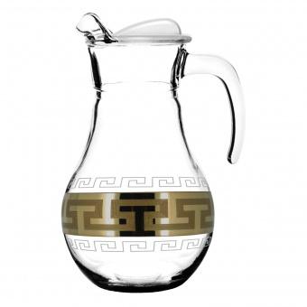 """Кувшин для воды с рисунком """"Греческий узор"""" 1л. GE03-3944"""