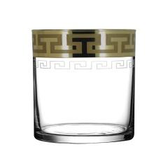"""Набор 6 стаканов для виски с рисунком """"Греческий узор"""" GE03-807"""