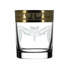 """Набор 6 стаканов для виски с рисунком """"Русский узор"""""""