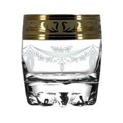 """Набор 6 стаканов для виски с рисунком """"Русский узор"""" GE09-415"""