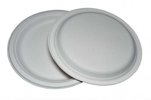 Тарелка из целлюлозы круглая №9 (228 мм)