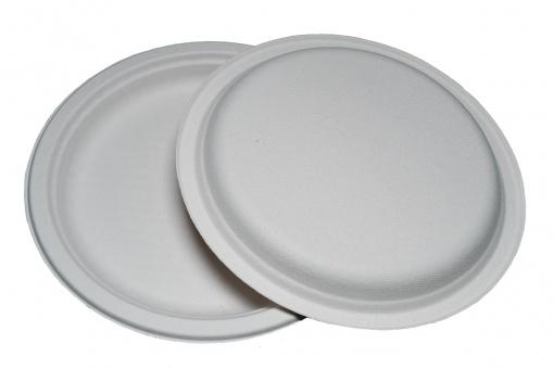 Тарелка из целлюлозы круглая №10 (262 мм)