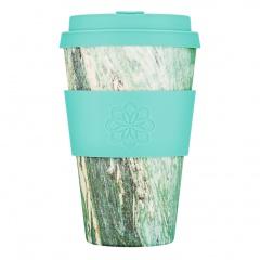 Ecoffee Cup Зеленый мрамор 400МЛ (14OZ) / КОД 142