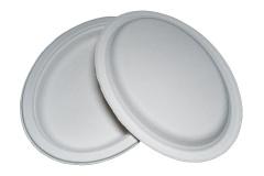 Тарелка из целлюлозы овальная №11 (262*200мм)