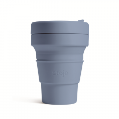 STOJO стакан Сталь 355мл (12oz) / S1-STE