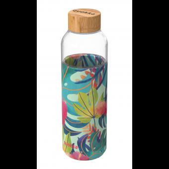 """Бутылка для воды Quokka """"Тропический поток"""" 660мл / 40000"""