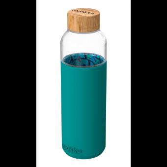 Бутылка для воды Quokka Лазурь и пальмы  660мл / 40005