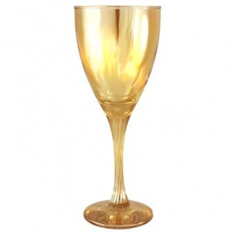 """Набор 6 бокалов для вина, цвет """"Янтарь"""" С-372"""