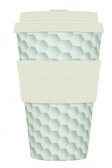 Ecoffee Cup Си белов  400мл (14oz) / КОД 161