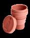 STOJO стакан Мускатный орех 355мл (12oz)  / S1-NUT