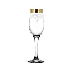 """Набор 6 бокалов для шампанского с рисунком """"Нежность"""" TAV34-160"""
