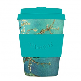 Ecoffee Cup Цветущий миндаль 350 мл (12 oz) SE / код 259