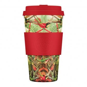 Ecoffee Cup Канареечки 475мл (16oz) / КОД 403