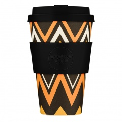 Ecoffee Cup Зиг-Заг 400МЛ (14OZ) / КОД 121